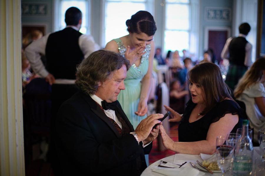 Reception at Culzean Castle Wedding