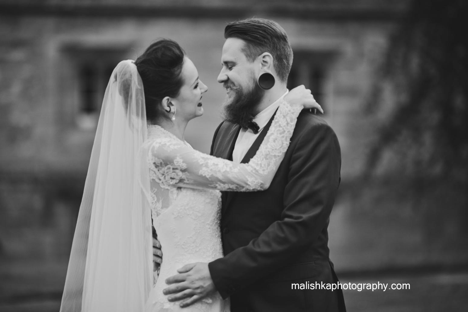Dalhousie Castle wedding images