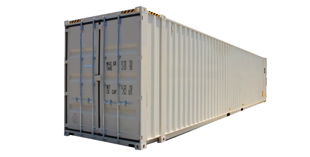 45' High Cube One Trip Container