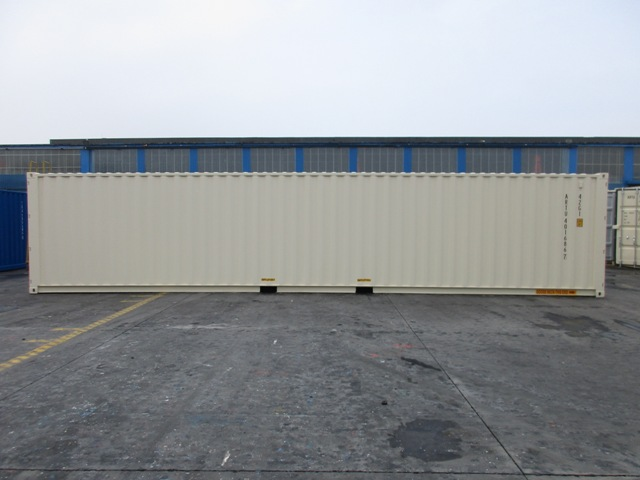 40' Double Door One Trip Container Side