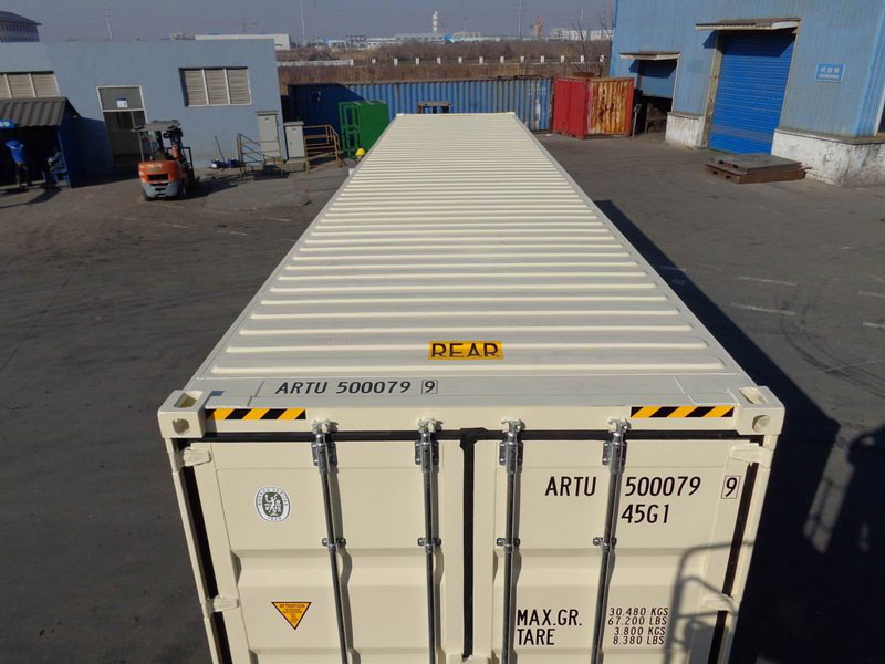40' High Cube Double Door One Trip Container Top