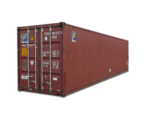 45' High Cube Cargo Worthy Container