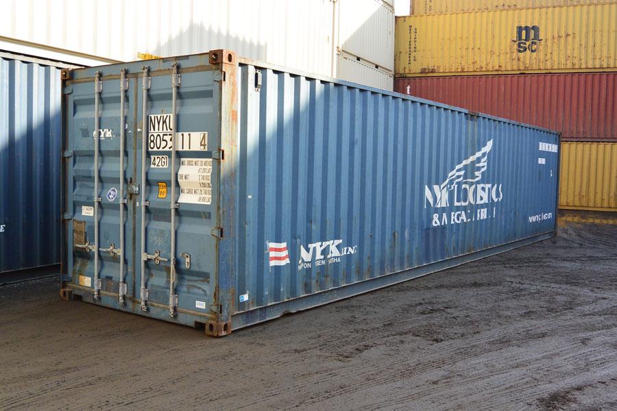 40' Cargo Worthy Door Open
