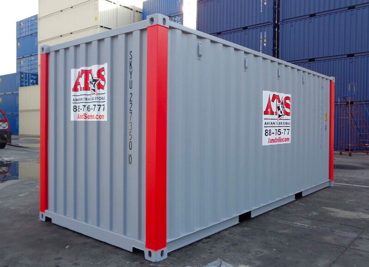 20' Rental Container