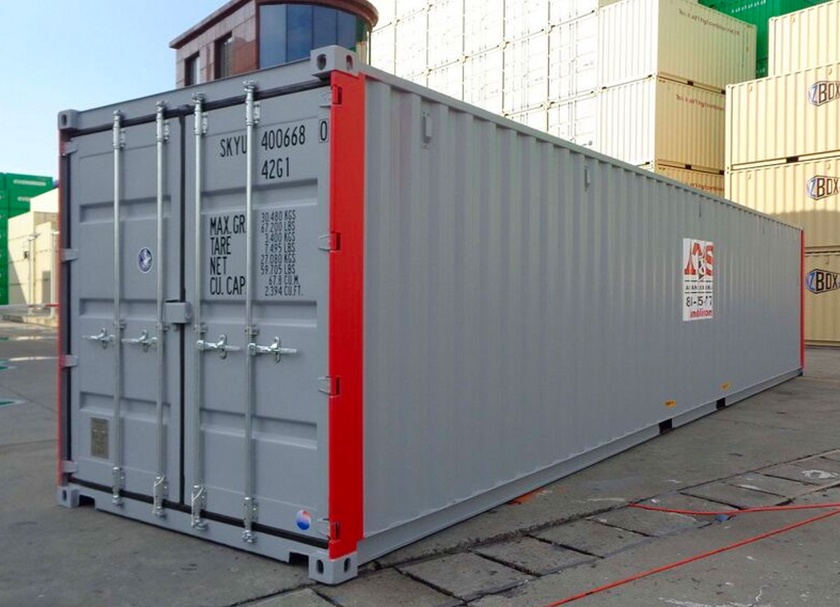 40' Rental Container