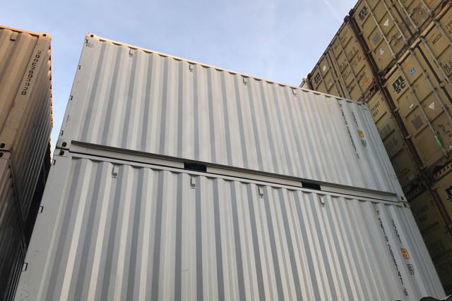 20' One Trip Container Light Gray