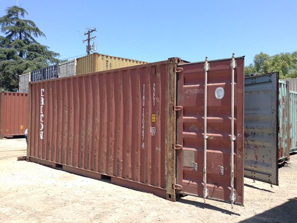 20' Wind and Water Tight Container Open