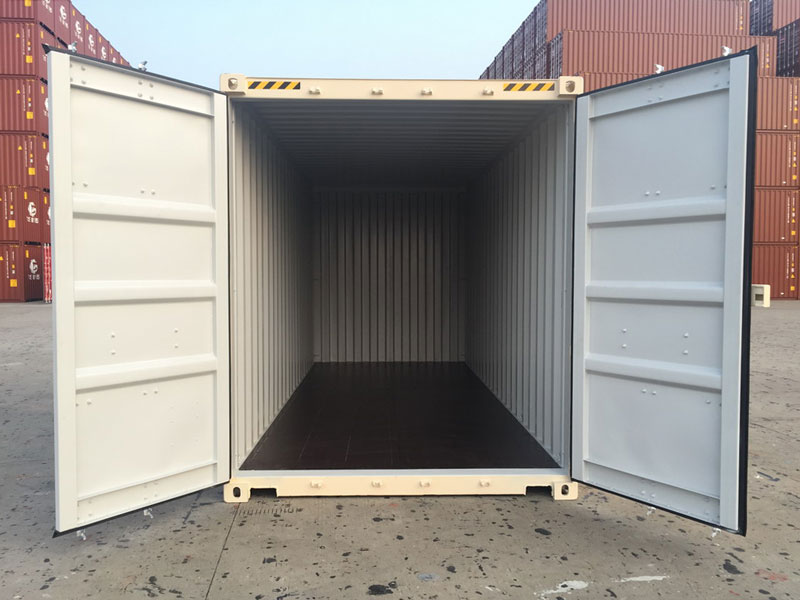 20' One Trip Container Inside