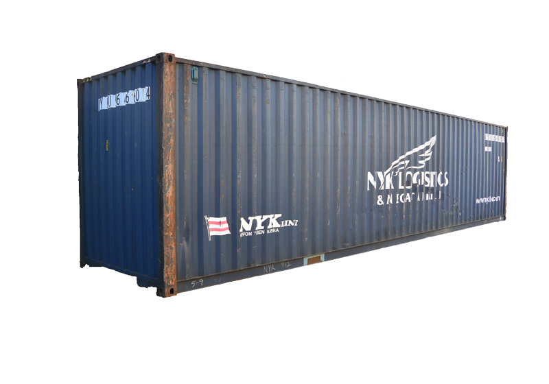 40' High Cube Cargo Worthy Container