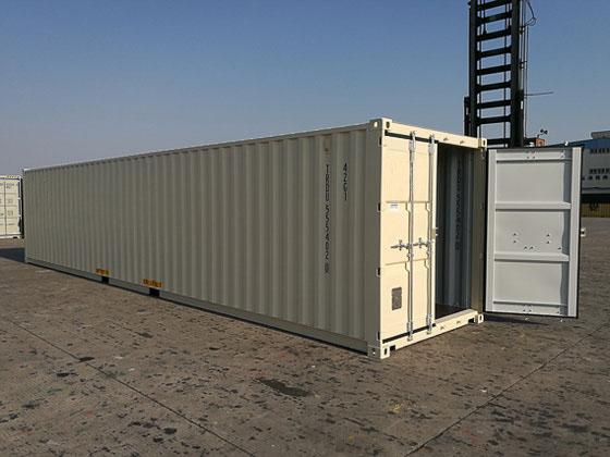 40' One Trip Container Open Door