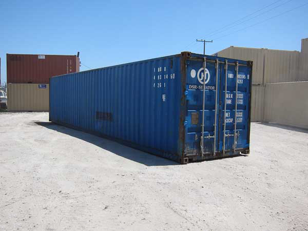 40' Wind and Water Tight Container