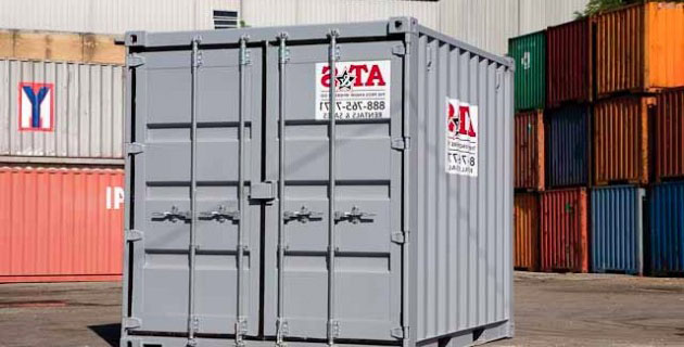 10' Rental Container
