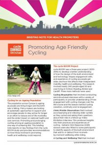 Download Promoting Age Friendly Cycling briefing
