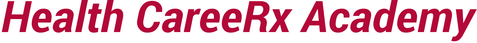 Health CareeRx Academy Logo