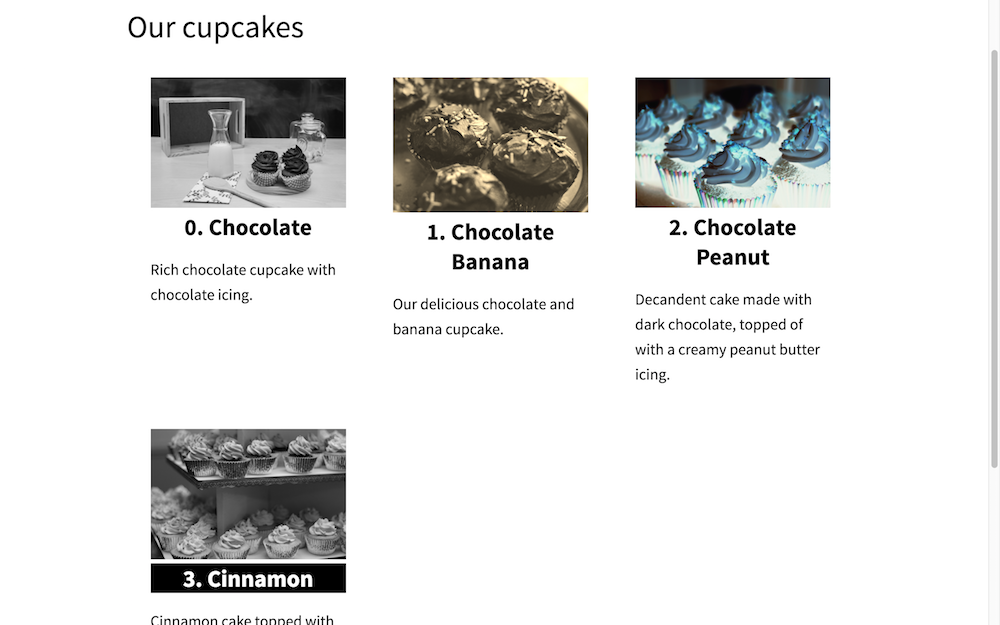 Cupcakes break