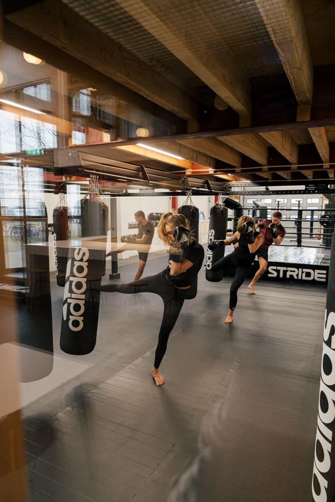 Bij Het Gymlokaal wordt boksen en kickboksen