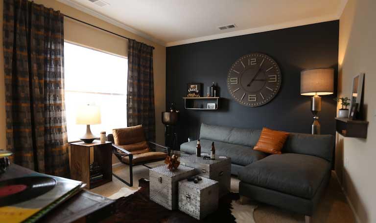 Meridian Parkside Living Room