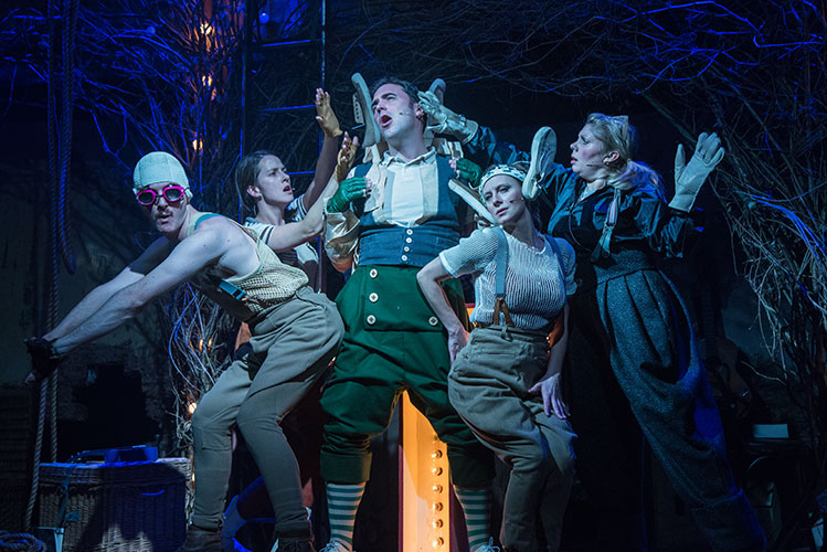 Wind and the Willows, Creation Theatre Oxford