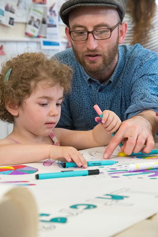 Intergenerational Arts Group photograph