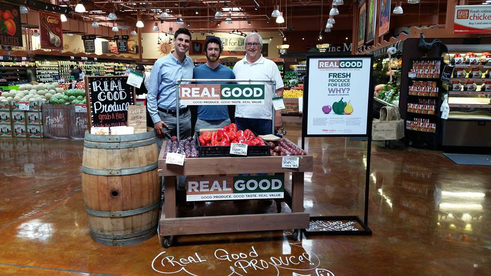 Imperfect Produce founders Ben Simon, Ben Chesler and Ron Clark