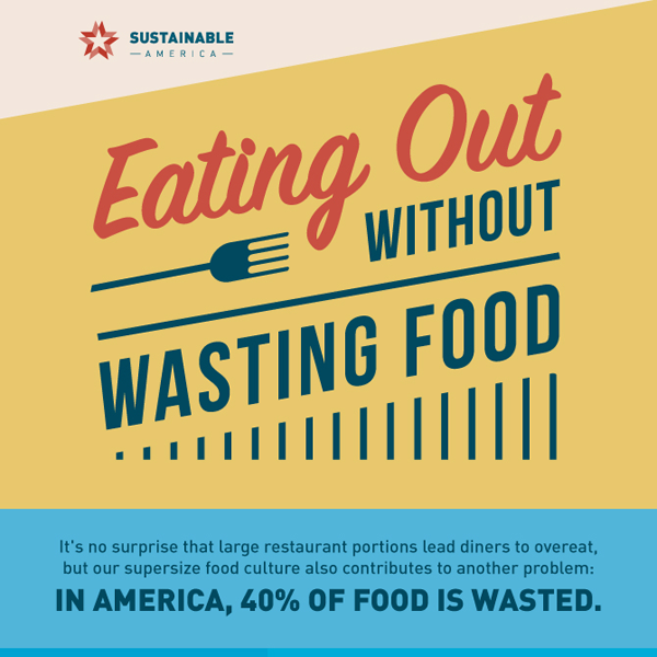 Eating Out Without Waste