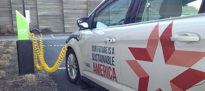 How We Got an EV Charger at Work (and You Can, Too)