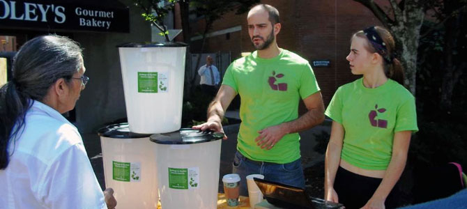 Curbside Composting Gains Steam in Portland, Maine