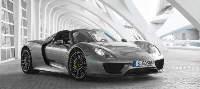 Porsche 918 Spyder: A Clean, Green Supercar