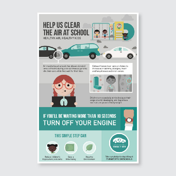 School Idling Poster