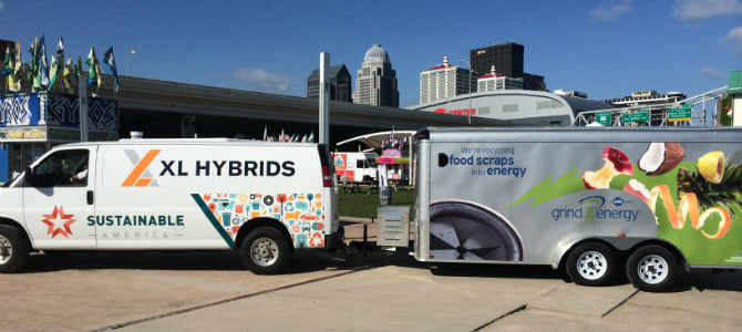 Sustainable America & Grind2Energy Hit the Road to Promote Composting!