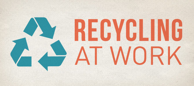 3 Steps to Recycling More at Work
