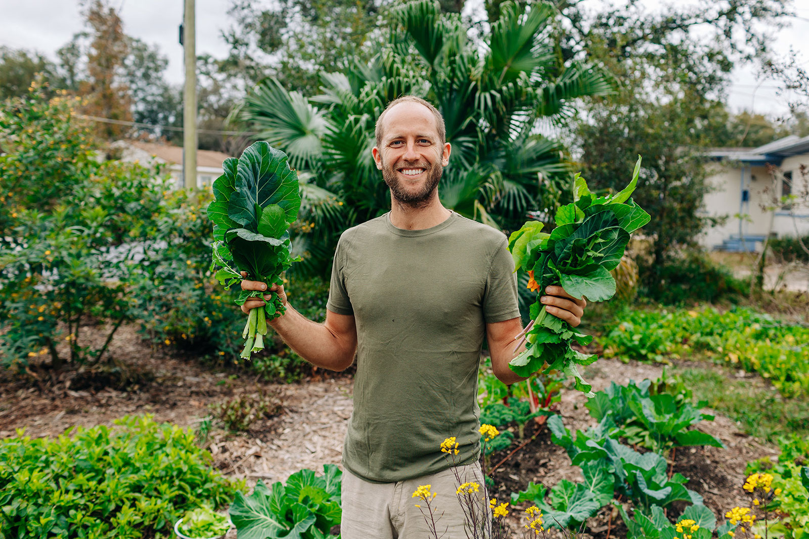 This Guy Is Growing All of His Food…on Other People's Land