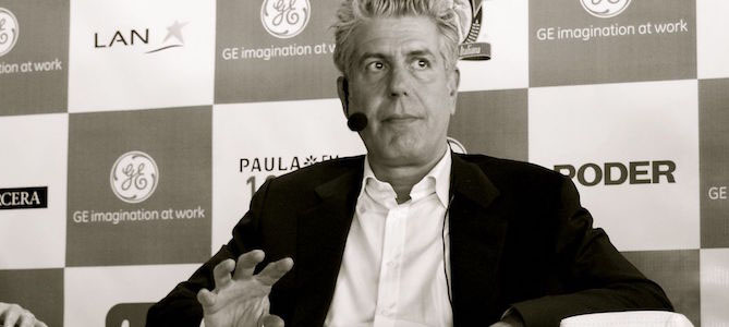 Anthony Bourdain Is Producing a Food Waste Documentary