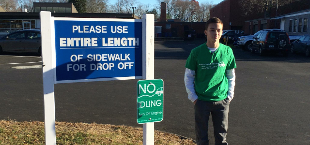 Teen Activist Pushes Town to Go Idle-Free