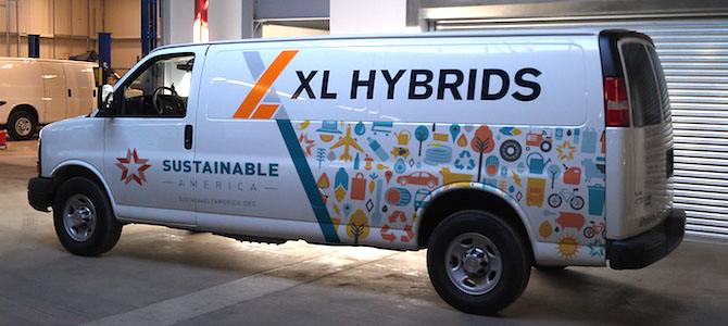 XL Hybrids: Making Fleets More Fuel Efficient