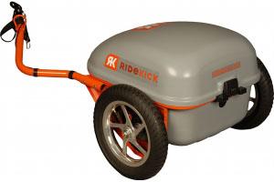 Ridekick electric powered bike trailer