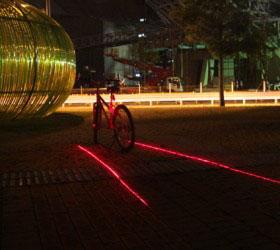 Bike Lane Safety Light