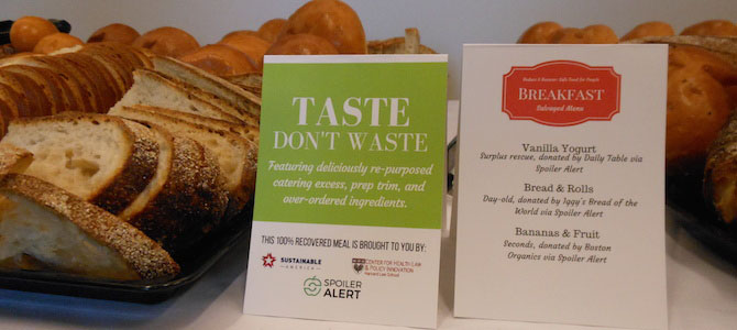 How to Feed 350 Food Waste Experts
