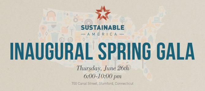 Sustainable America's Inaugural Gala