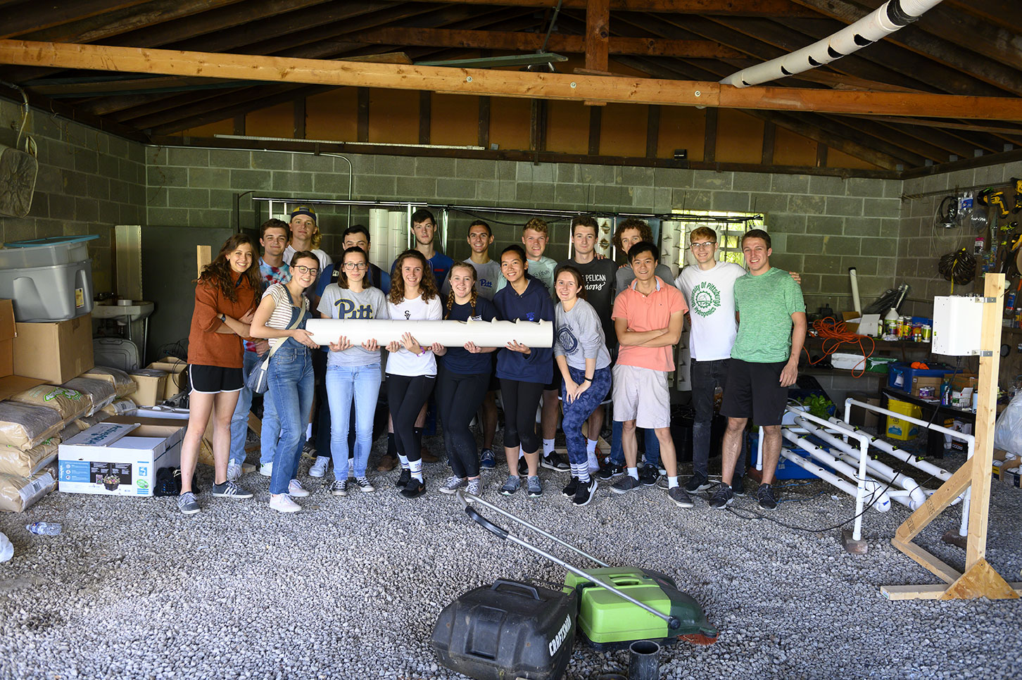 Community Changemakers: Pitt Hydroponics