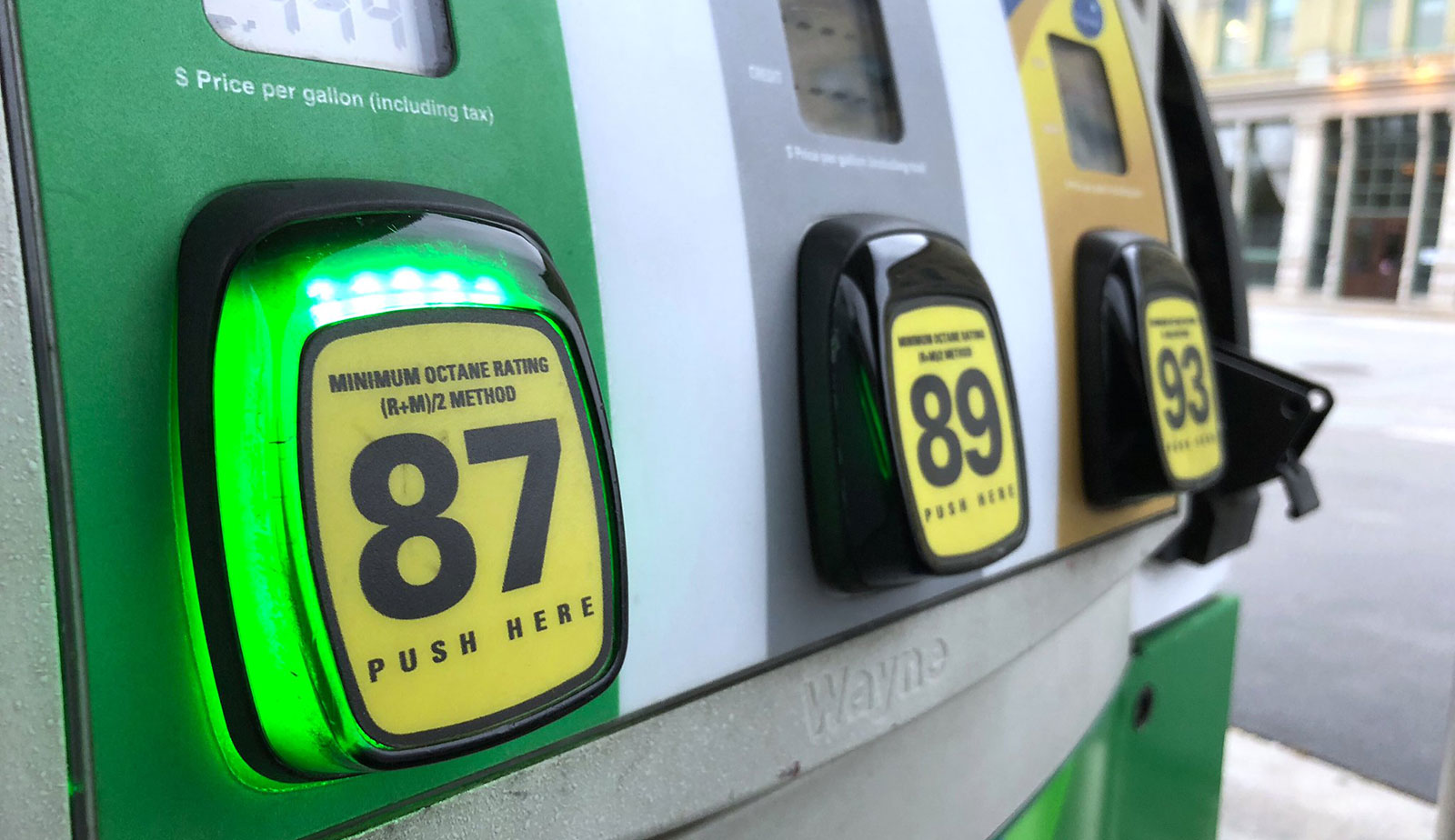 Massachusetts city considers requiring climate warnings on gasoline pumps