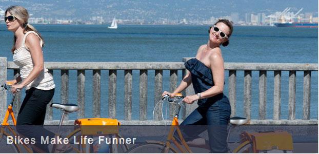 Bikes make life better...