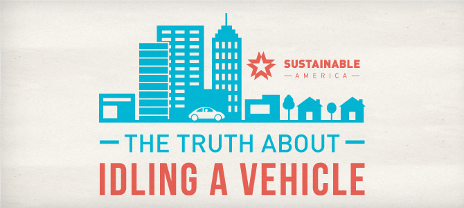 The Truth About Idling [infographic]