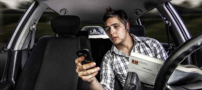 Have Cell Phones Led to Increased Vehicle Idling?