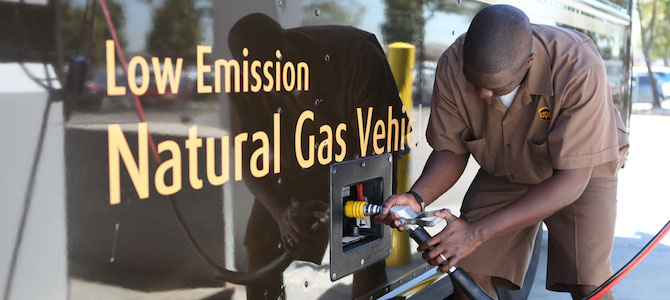 UPS Commits to Renewable Natural Gas