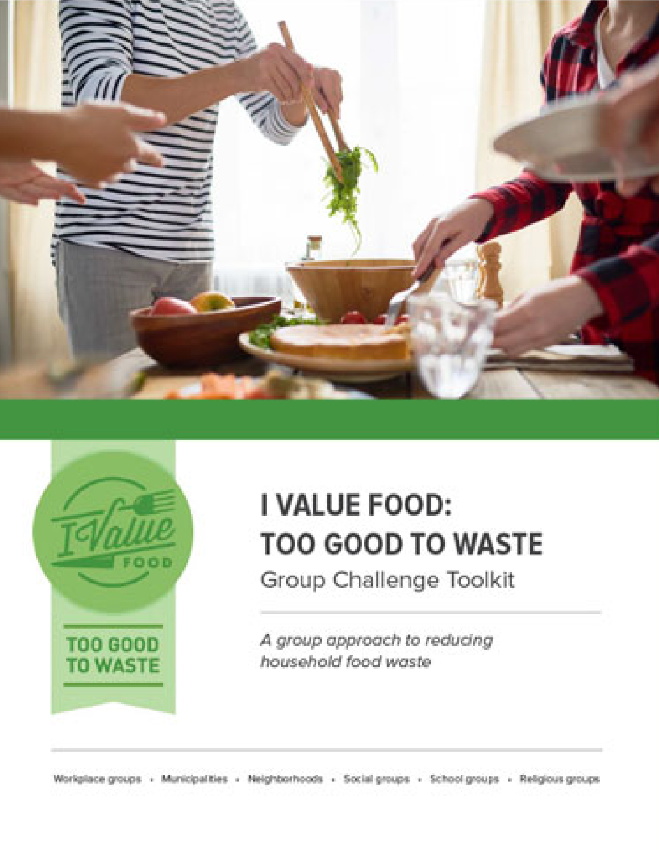 Leading A Food Waste Challenge Toolkit
