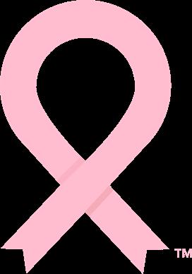 NBCF pink ribbon - light pink