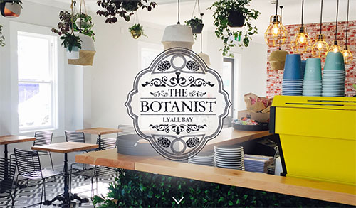 The Botanist home page