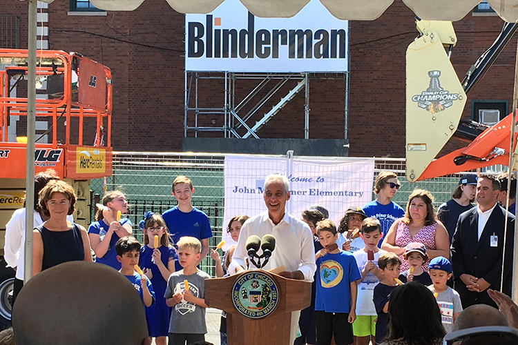 Extensive Renovations to Palmer Elementary School image