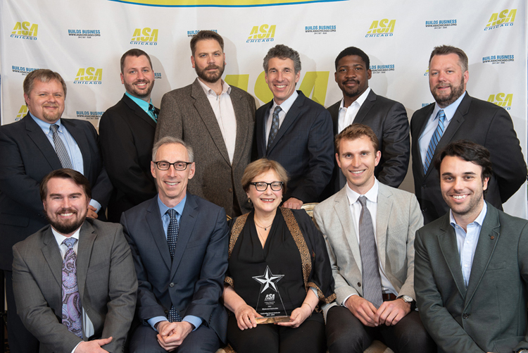 Blinderman Awarded ASA Chicago's Outstanding General Contractor of 2017 - 2018 image